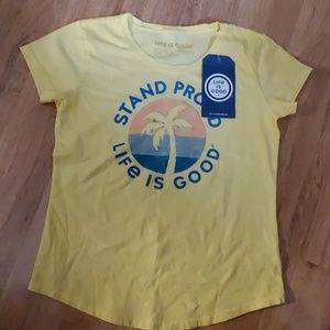 NWT Girls Life is Good t shirt